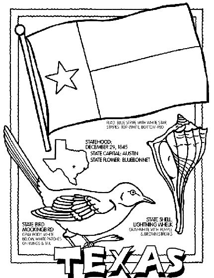 United States Coloring Pages Printable