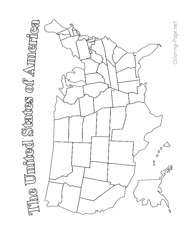 670x820 Coloring Pages United States United States Coloring Page Latest