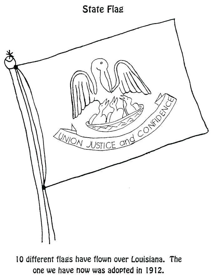 675x891 State Flag Coloring Pages New State Flag Coloring Page Map