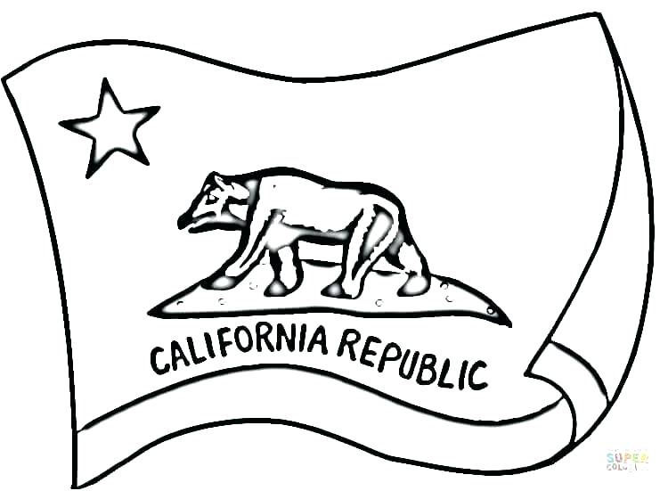 750x551 State Flag Coloring Pages State Coloring Pages State Flag Coloring