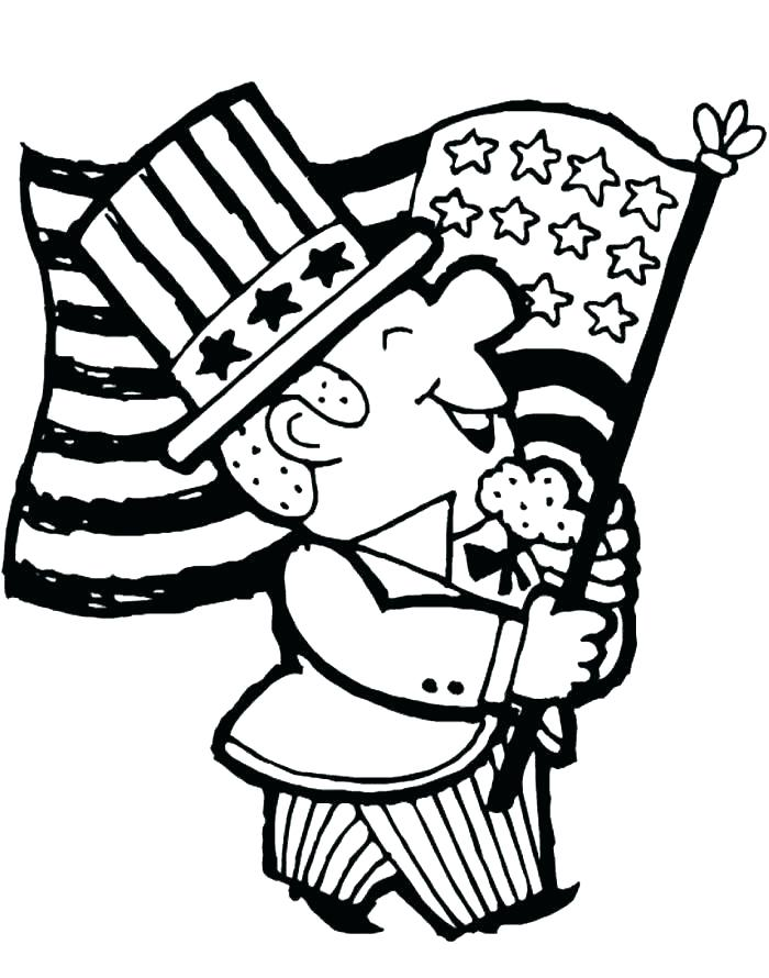 700x890 United States Flag Coloring Page Flag Coloring Pages State United