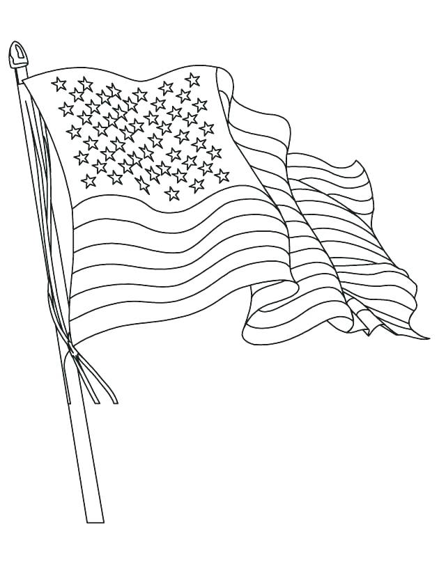 630x810 American Flag Coloring Page Coloring Page Of Flag Flag Color Page