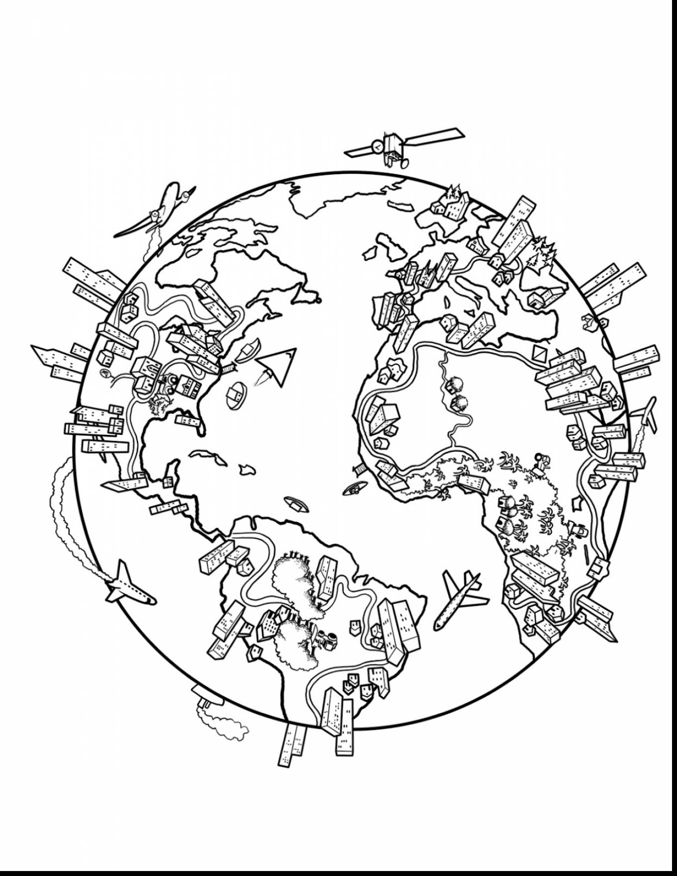 United States Of America Coloring Page At Getdrawings Com Free For