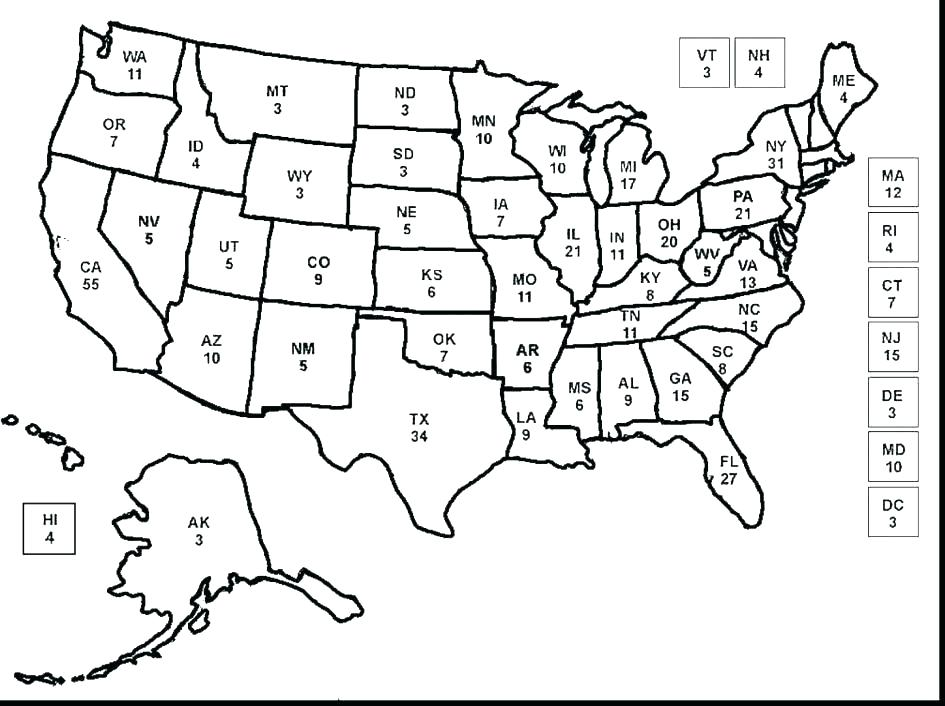 945x706 Symbols Of The United States America Coloring Pages Map Page Us