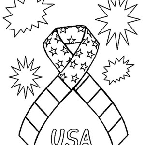 300x300 United States Of America Map Patriots Day Coloring Pages United