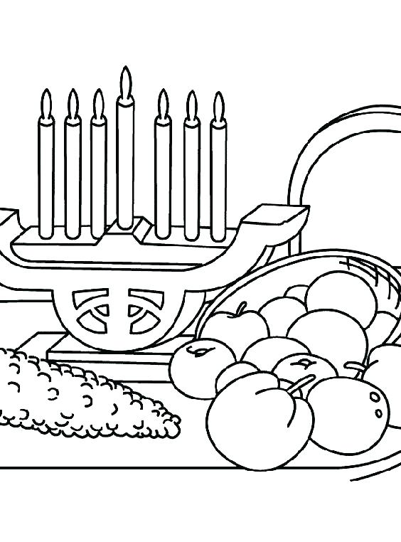 564x762 Kwanzaa Coloring Page Colouring Page Kids Drinking From A Unity