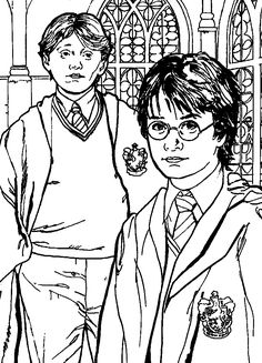 236x327 Harry Potter Coloring Book