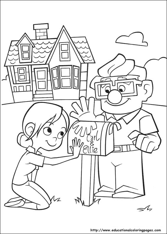 567x794 Up Coloring Pages Up Coloring Pages Printable Coloring Image