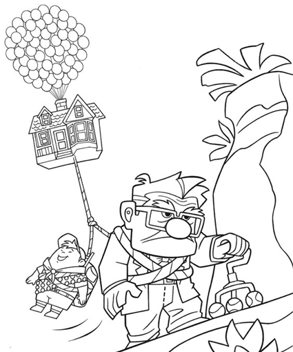 425x510 Up Coloring Pages Coloringpagehub