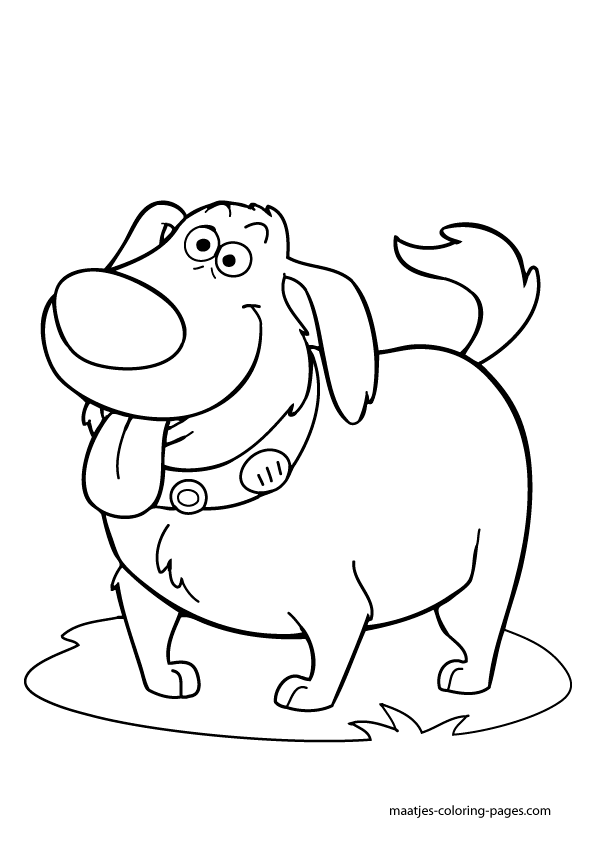 595x842 Disney Up Coloring Pages