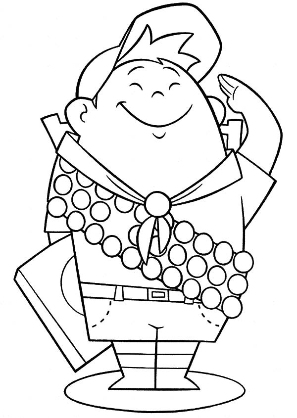 600x845 Little Scouting Boy Russel Up Coloring Pages Best Place To Color