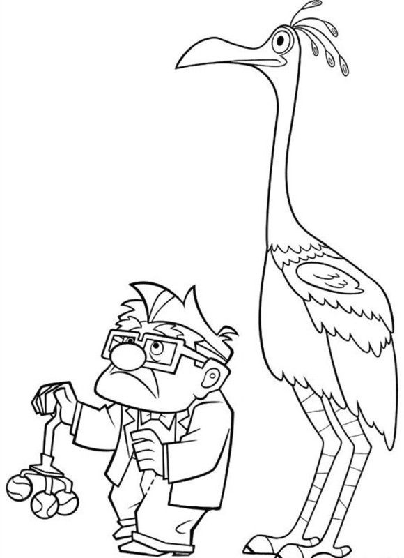 580x800 Picture Movie Up Coloring Pages Camp Movie