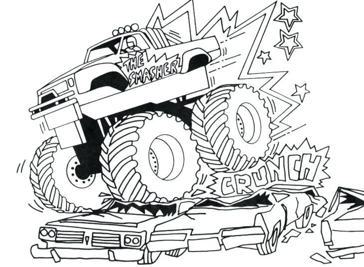 Ups Truck Coloring Pages At Getdrawings Com