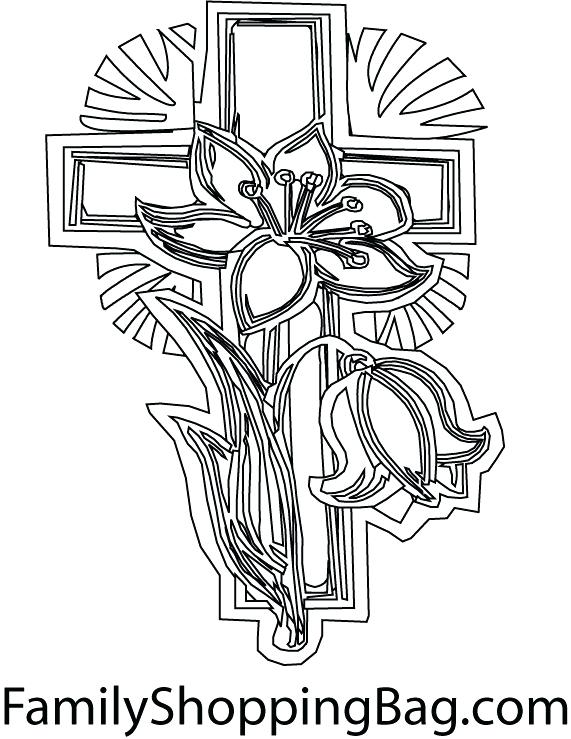 571x739 Coloring Pages Crosses Coloring Page Cross Cross Color Pages Cross