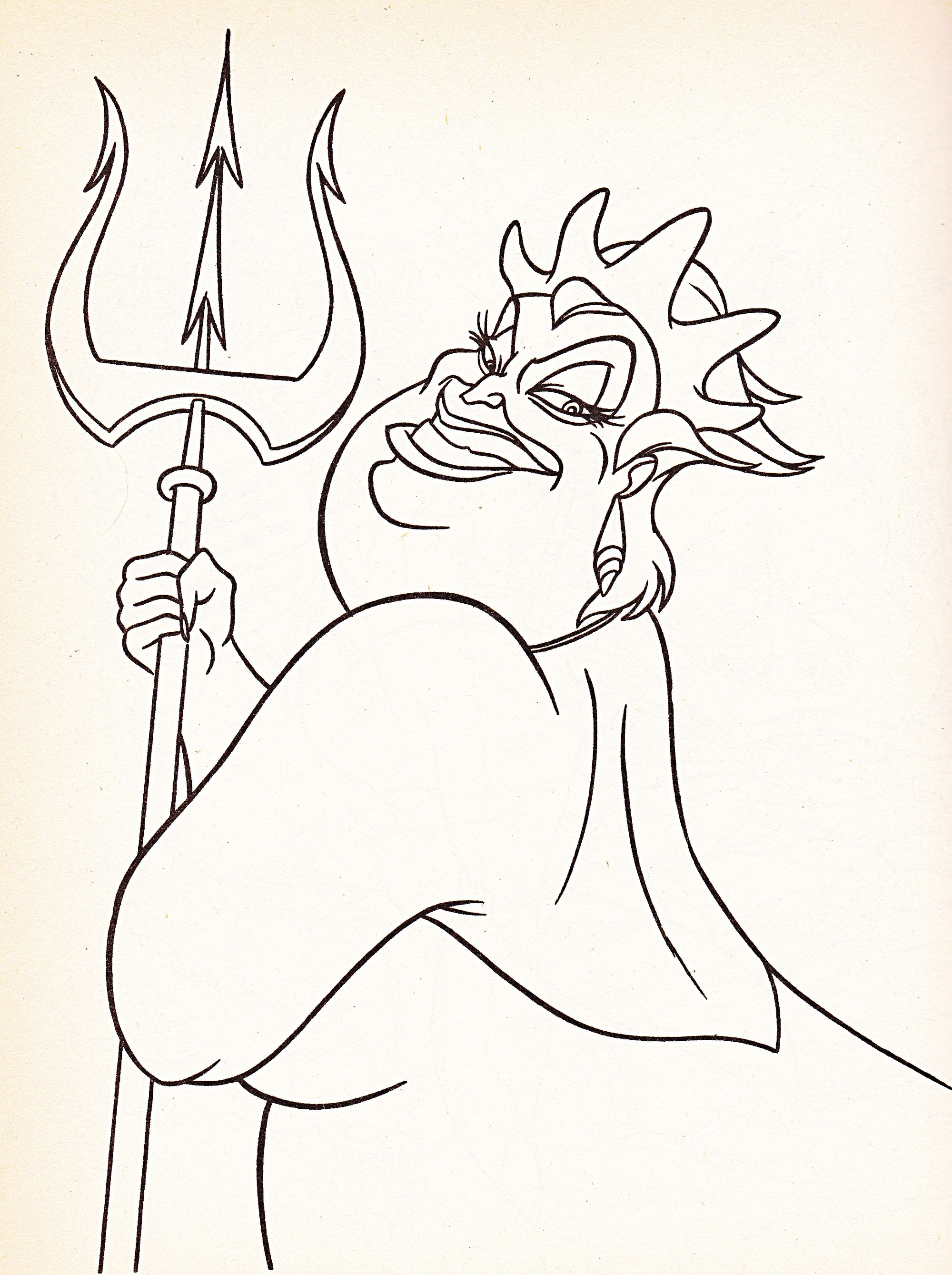 2000x2678 Ursula Coloring Pages Sharry Ursula Coloring Page World Coloring