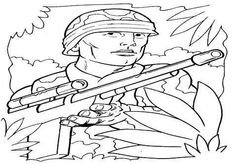 476x333 Army Soldier Coloring Sheet Kids Coloring Army Coloring Page Army