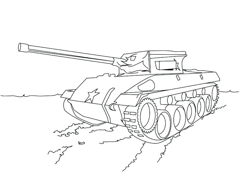 800x619 Army Tank Coloring Page Printable Pages With Army Tanks Coloring