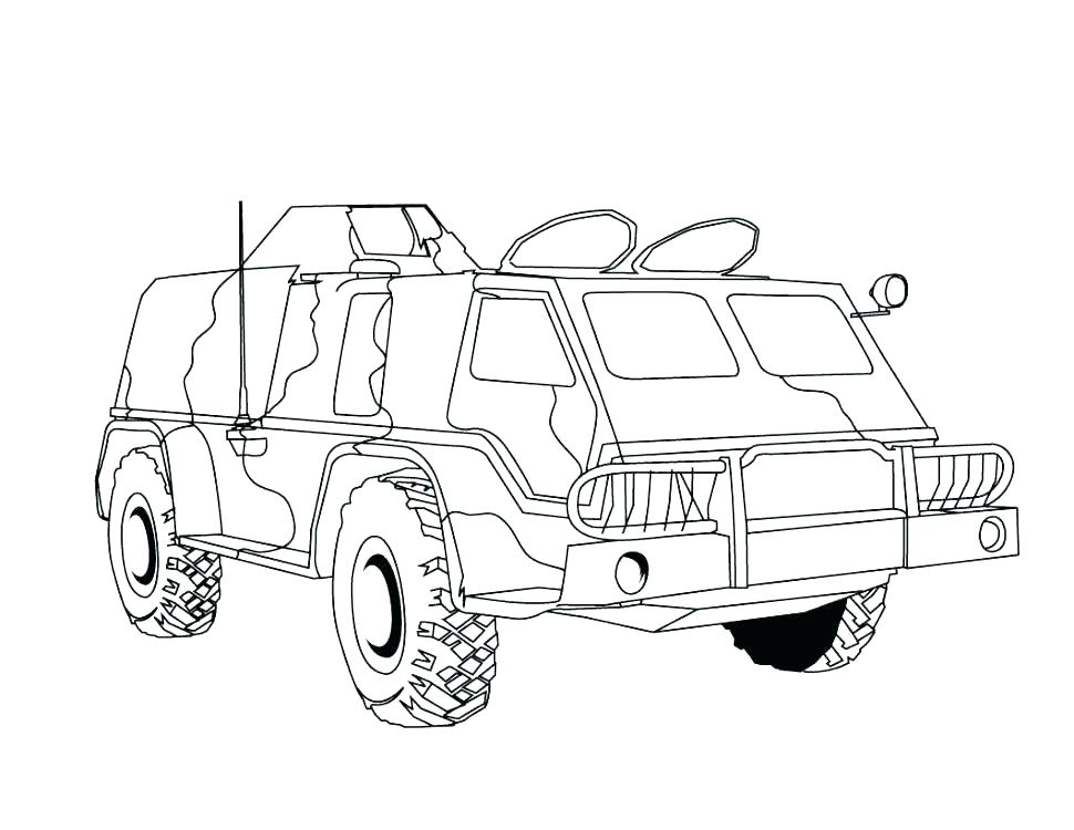 970x750 Army Truck Coloring Pages Army Vehicle Coloring Sheets Army Truck