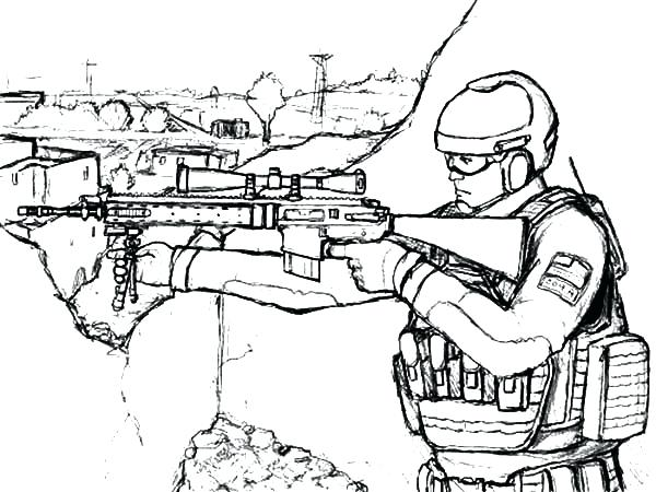 600x450 Military Coloring Sheets Free