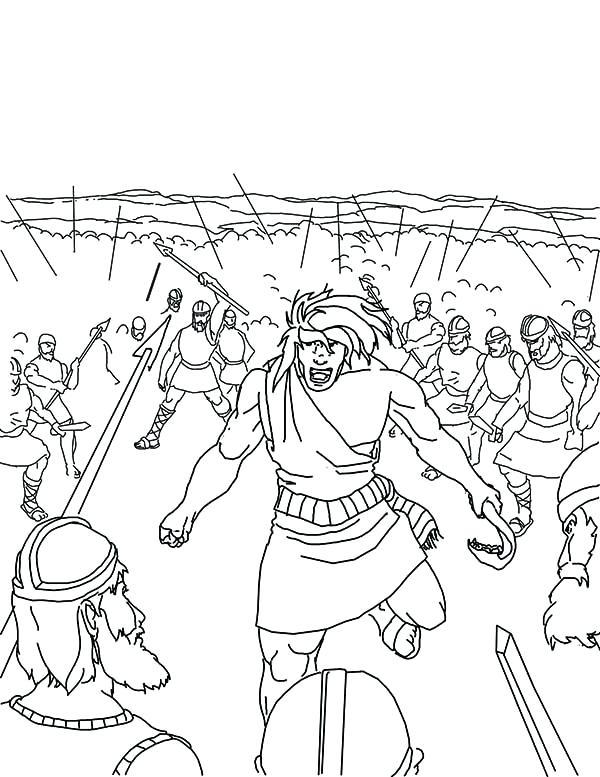 600x777 Army Coloring Pages Slaying Entire Army Coloring Page Free Army