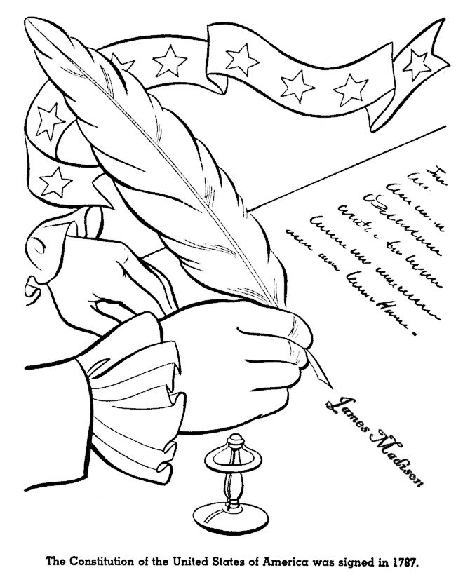 Us History Coloring Pages