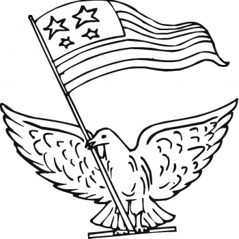 350x350 American History Coloring Pages