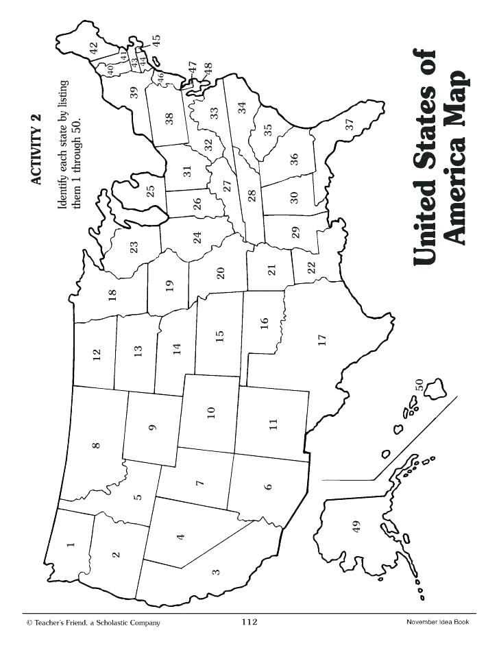 728x945 Us Map Coloring Page United States Color Blank Size Treasure
