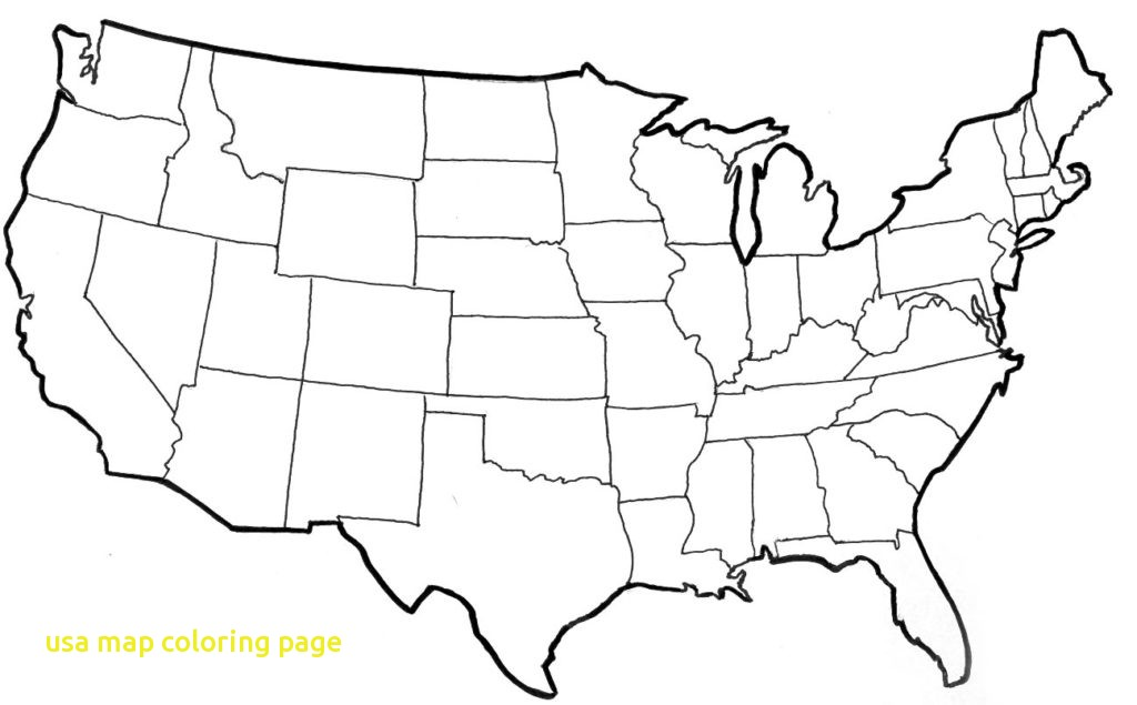 1024x635 Usa Coloring Page Usa Map Coloring Page With Blank Us Map Coloring