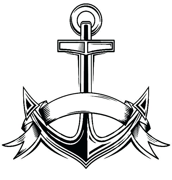 600x627 Navy Coloring Pages Navy Anchor Coloring Pages Us Navy Seal