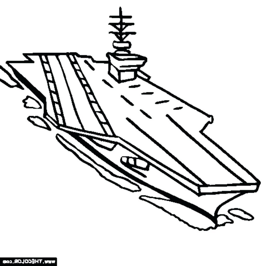 1024x1024 Coloring Page Navy Coloring Pages Aircraft Carrier Us Baby