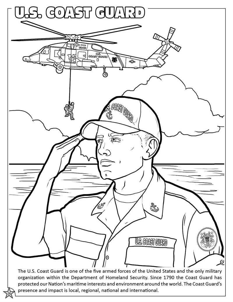 800x1035 Coast Guard Coloring Pages
