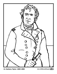 200x259 U S Presidents Coloring Pages