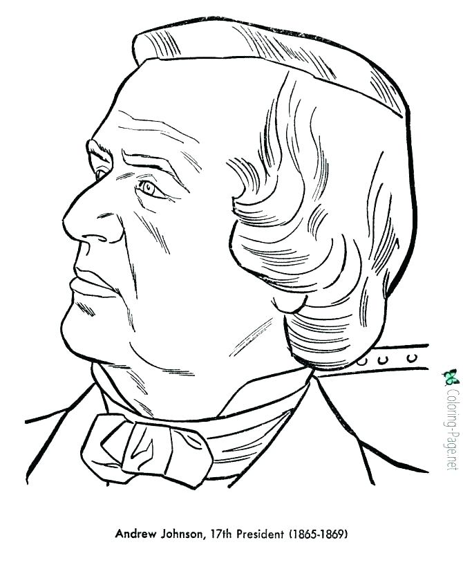 670x820 Us Presidents Coloring Pages Coloring Page From The Presidents