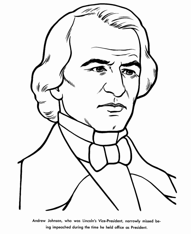 670x820 Free Printable President Millard Fillmore Biography And Coloring