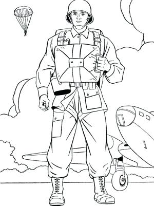 300x401 Soldier Coloring Page Us On Duty Veterans Day Coloring Page Free