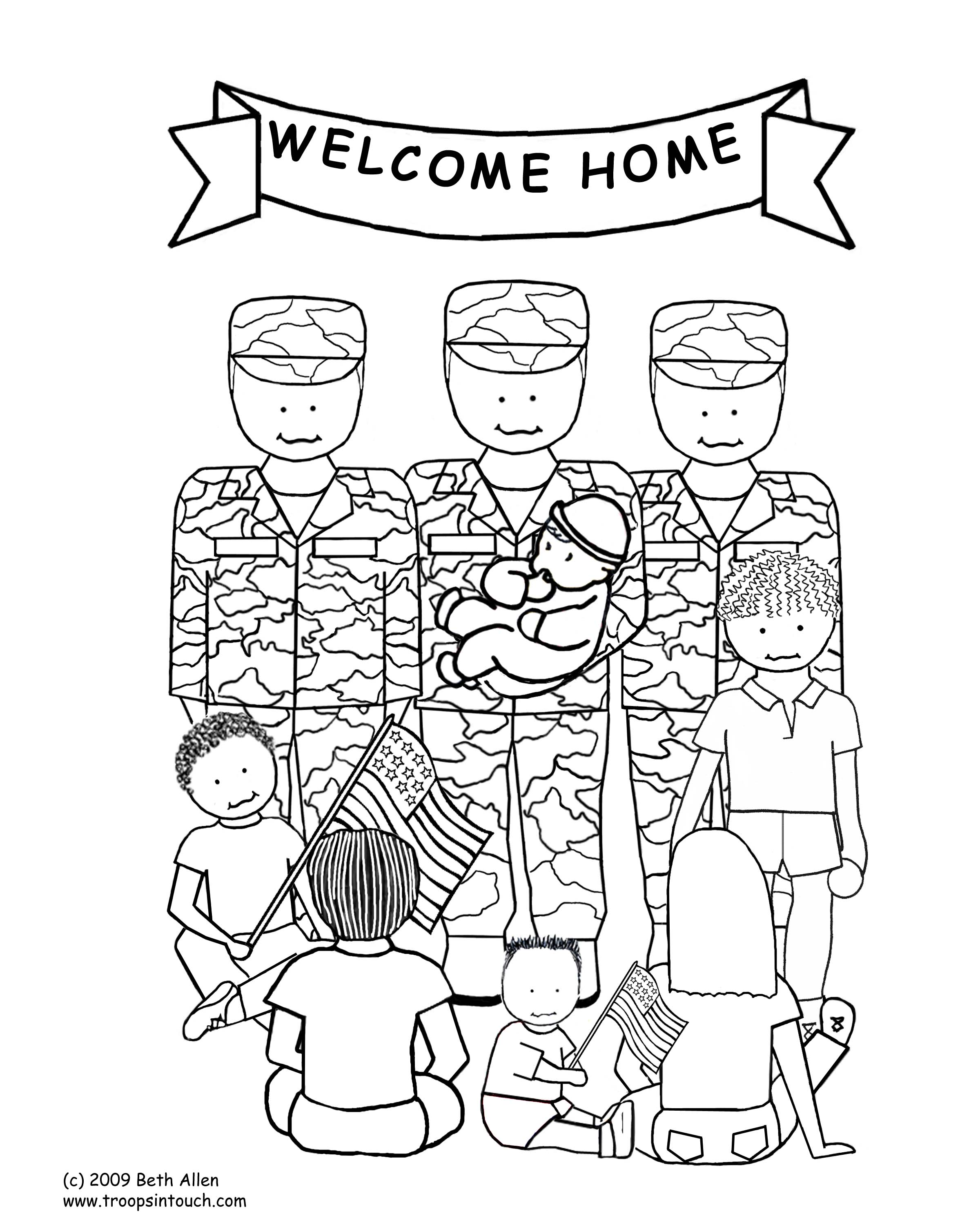 2400x3000 Veterans Day Coloring Pages