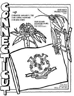 236x306 Idaho State Symbol Coloring Page
