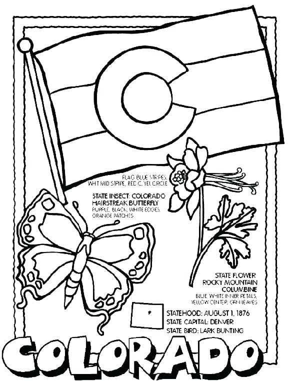 586x762 States Coloring Pages Falls Page Best Coloring Pages States Flags