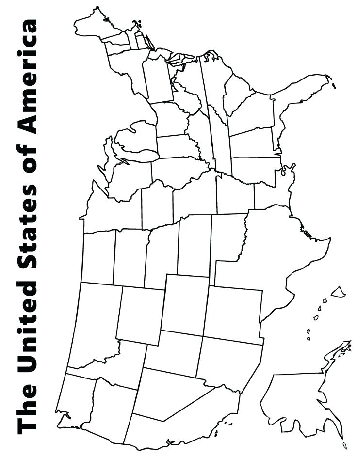 736x943 States Coloring Pages Map Of Us Coloring Page Lovely Us Map