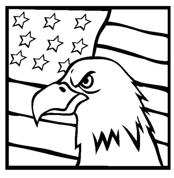 600x613 Us Flag Coloring Page United States Flag Coloring Page Us Flag