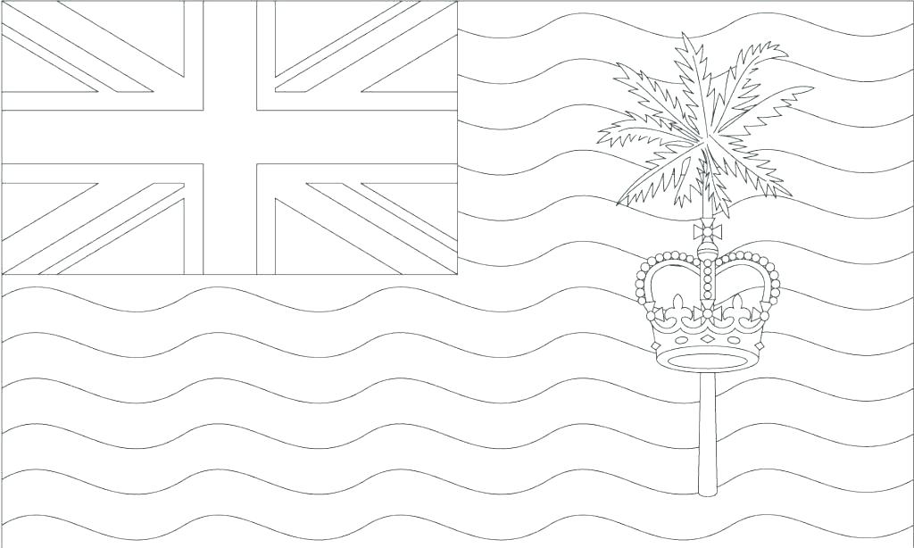 1024x614 World Flags Coloring Pages State Flag Coloring Pages Us Outline
