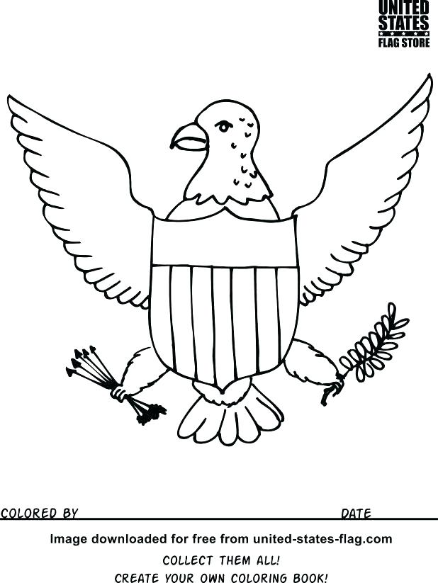 618x823 Coloring Page United States Coloring Pages Click The State Flag