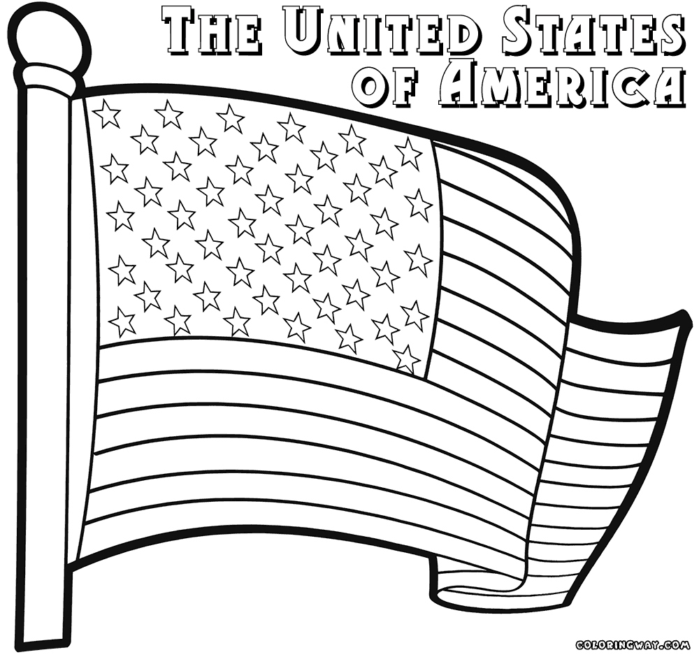1000x940 Usa Coloring Pages Beautiful Us Flag Coloring Page Coloring Pages