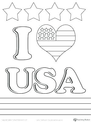 300x400 Usa Flag Coloring Page In Addition To Coloring Page Of Flag Flag