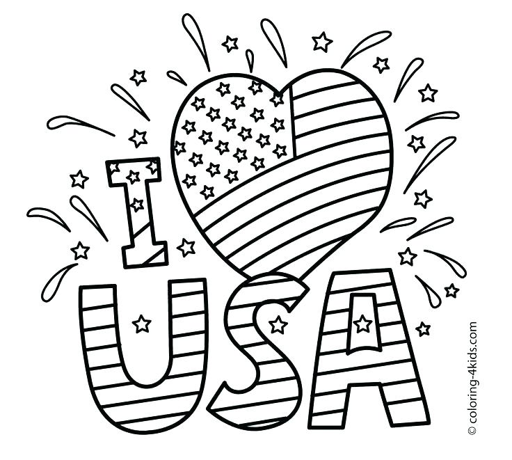 736x661 Usa Flag Coloring Pages Coloring Page Images About Of Coloring