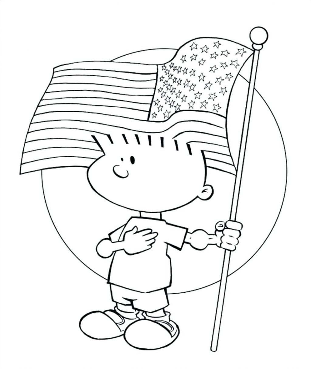 1024x1213 Coloring Pages American Flag Coloring Page Printable For First