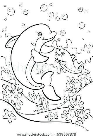 318x470 Marine Life Coloring Page Free Download Marine Life Coloring Page