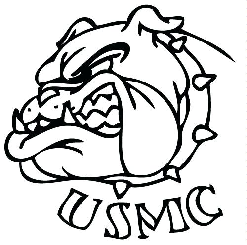 500x496 Unique Marine Corps Coloring Pages And Military Coloring Pages Dog