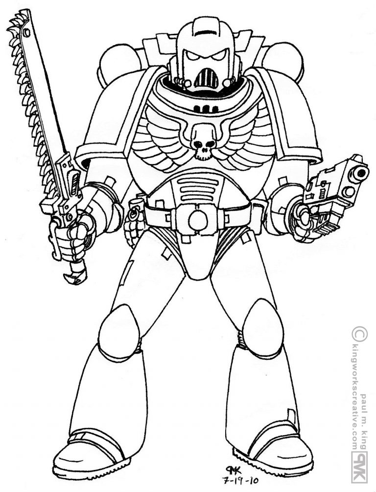 768x1005 Coloring Pages For Usmc Best Of Inspiration Space Marine Saints