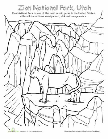 Utah Coloring Pages